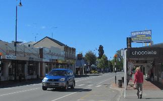 Geraldine town